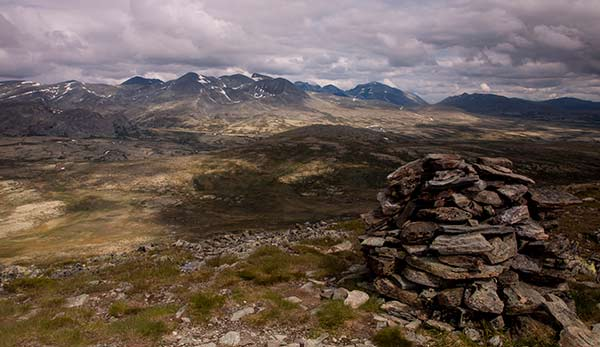 norvege-randonnée-cairn