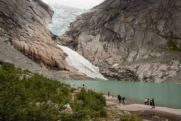 randonnée–Norvège-glacier-Bodalsbreen