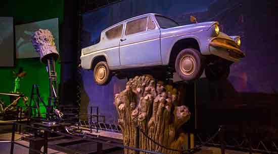 studio-harry-potter-Londres-voiture