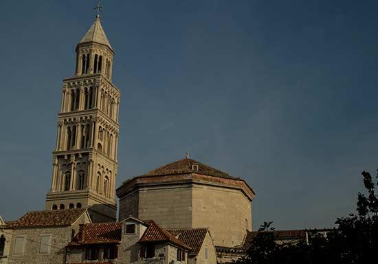 Split-Croatie-en-famille-cathédrale