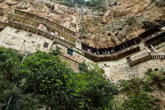 grece-avec-enfants-monastère-Podromou
