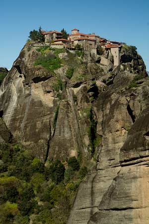 voyage-en-grèce-en-famille-Monastère-Météores