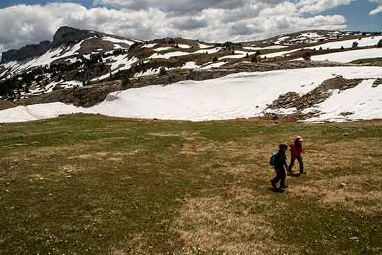 randonnée mont aiguille