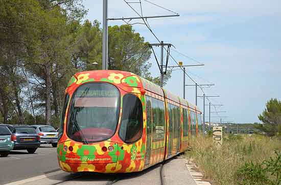 montpellier-famille tramway