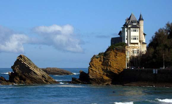visiter biarritz en famille villa belza