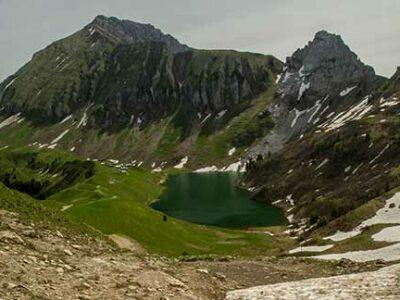 randonnée-aravis-lac