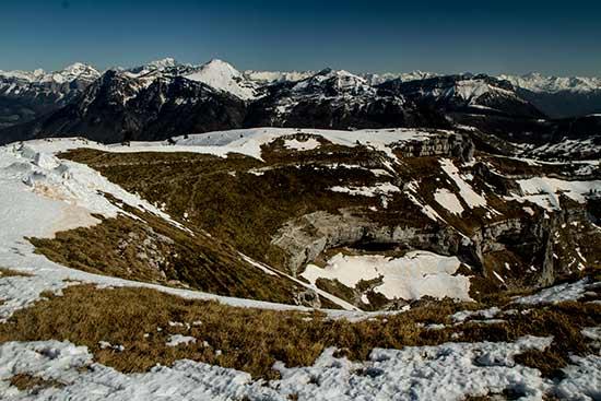 Rando-raquettes-Margeriaz-bauges-alpes